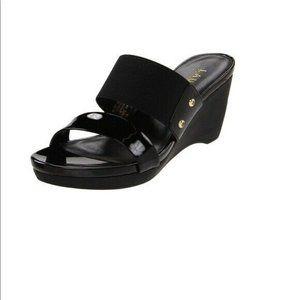Lauren Ralph Lauren Rhianna Slide Wedge Sandal 7.5